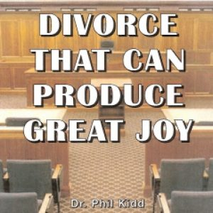DIVORCE THAT CAN PRODUCE GREAT JOY
