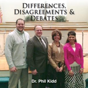 DIFFERENCES, DISAGREEMENTS AND DEBATES